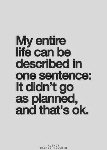 life not planned