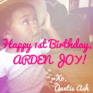 Happy Birthday Arden