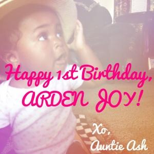 Happy Birthday Arden