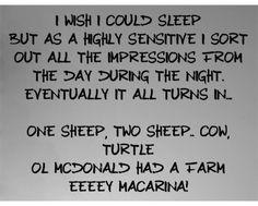 i wish i could sleep