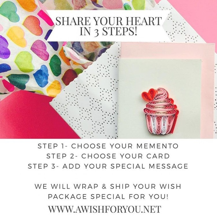 share your heart in 3 steps
